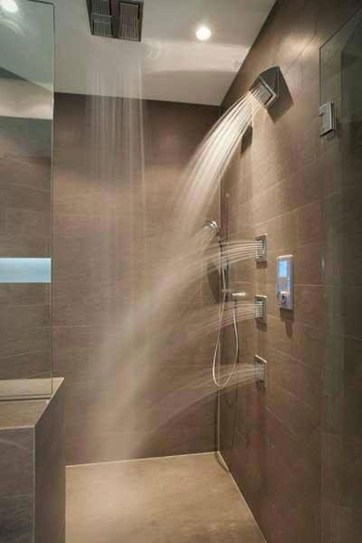 Stunning Rainfall Shower Ideas33