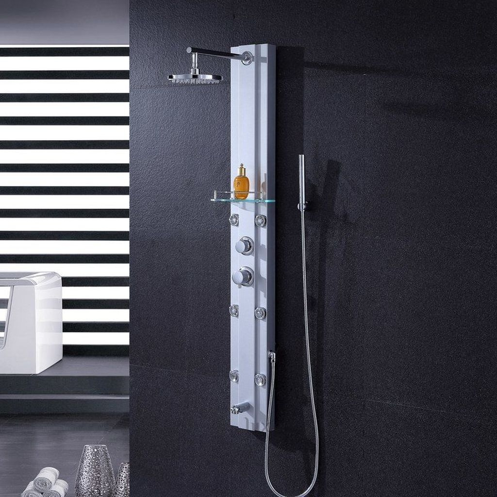Stunning Rainfall Shower Ideas34