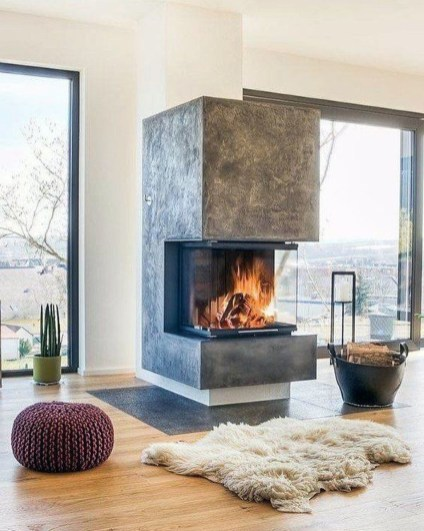 Superb Fireplace Design Ideas You Can Do It45