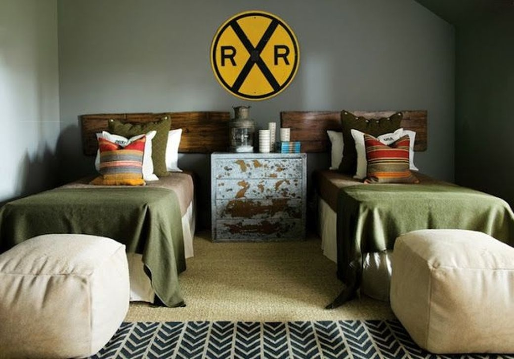 Vintage Shared Rooms Decor Ideas For Teen Boy03
