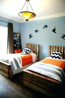 Vintage Shared Rooms Decor Ideas For Teen Boy05