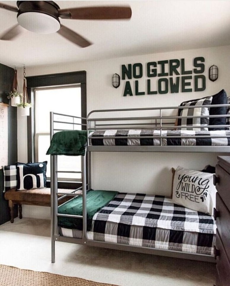 Vintage Shared Rooms Decor Ideas For Teen Boy09
