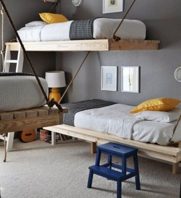 Vintage Shared Rooms Decor Ideas For Teen Boy11