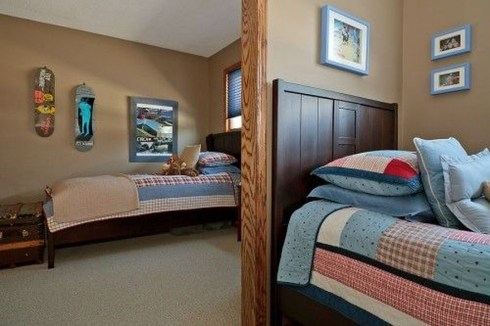 Vintage Shared Rooms Decor Ideas For Teen Boy15