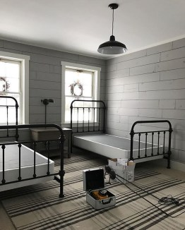 Vintage Shared Rooms Decor Ideas For Teen Boy16