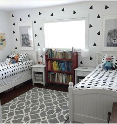 Vintage Shared Rooms Decor Ideas For Teen Boy24