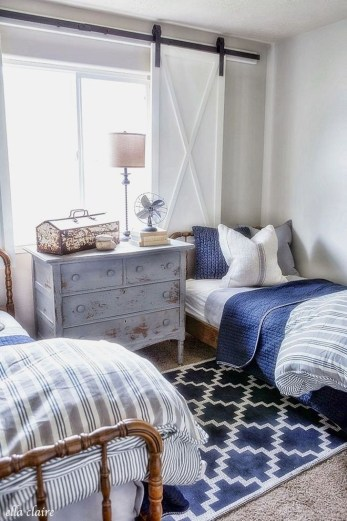 Vintage Shared Rooms Decor Ideas For Teen Boy26