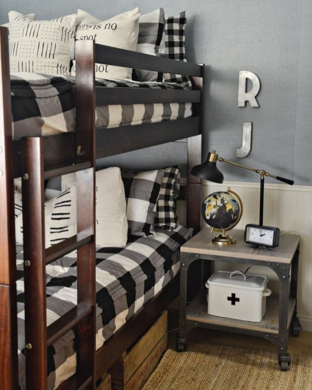 Vintage Shared Rooms Decor Ideas For Teen Boy45