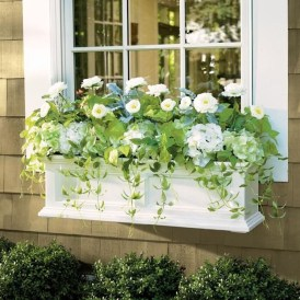 Wonderful Flower In Pots Ideas For Your Window13