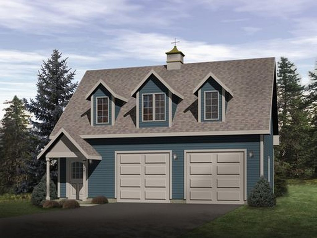 Astonishing House Design Ideas With With Car Garage04
