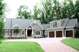 Astonishing House Design Ideas With With Car Garage34