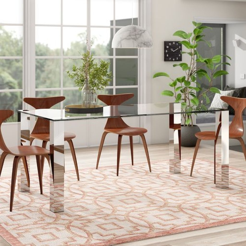 Best Minimalist Dining Room Design Ideas For Dinner With Your Family19