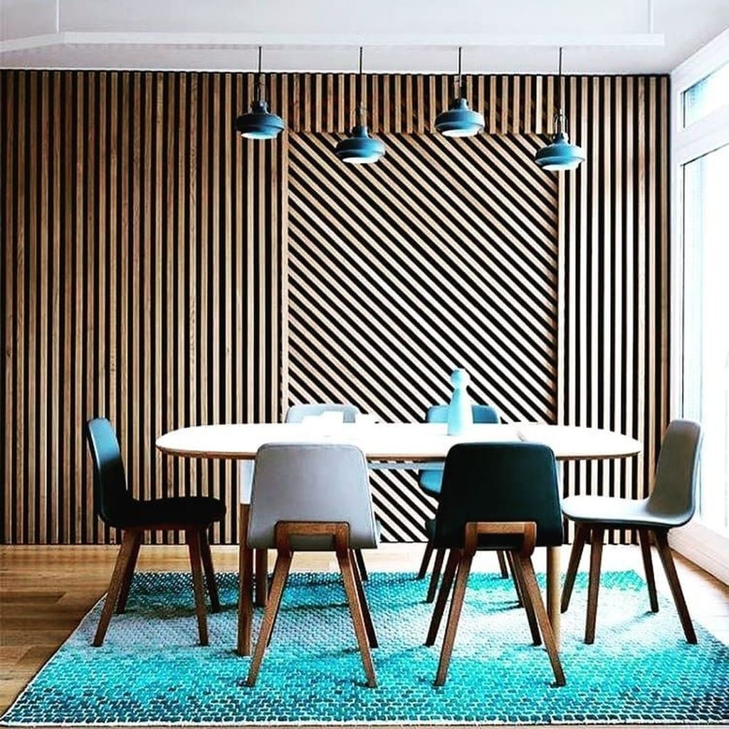 Best Minimalist Dining Room Design Ideas For Dinner With Your Family22