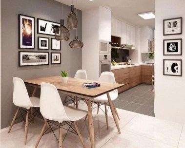 Best Minimalist Dining Room Design Ideas For Dinner With Your Family24