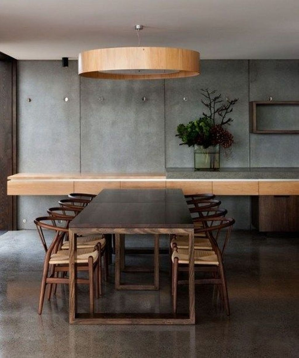 Best Minimalist Dining Room Design Ideas For Dinner With Your Family37