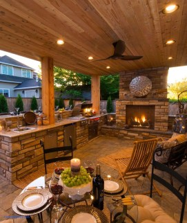 Brilliant Outdoor Kitchen Design Ideas For You Nowaday03