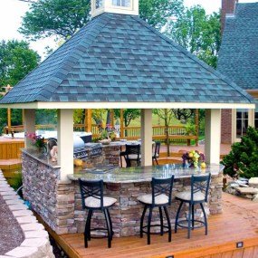 Brilliant Outdoor Kitchen Design Ideas For You Nowaday08