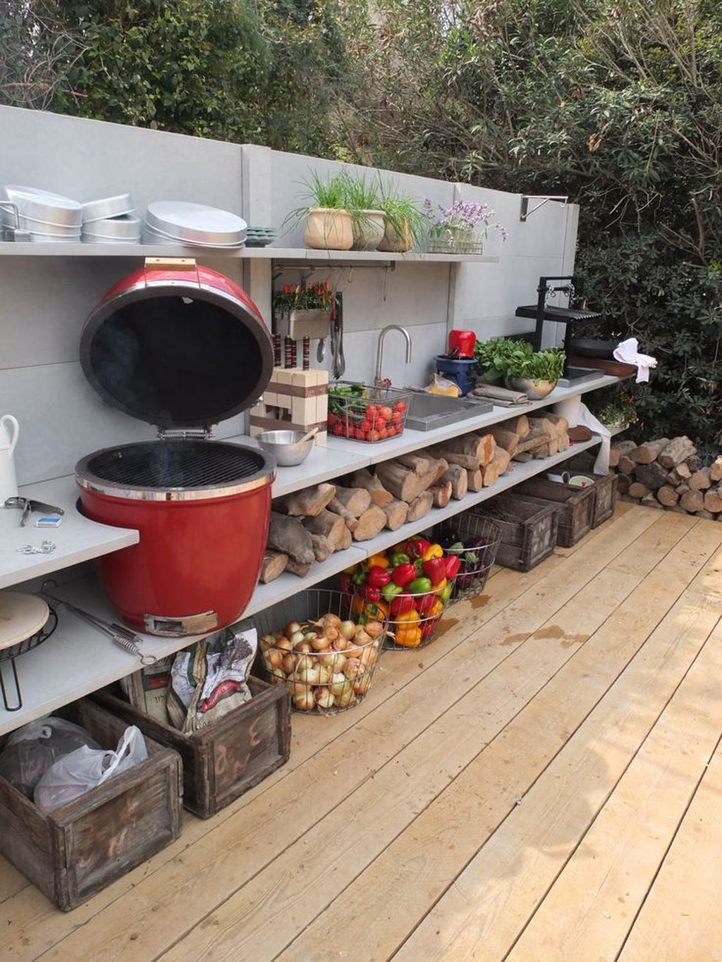 Brilliant Outdoor Kitchen Design Ideas For You Nowaday12