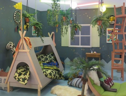 Charming Kids Bedroom Ideas With Jungle Theme To Try17