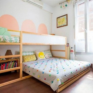 Comfy Kids Bedroom Decoration Ideas That Trendy Now19