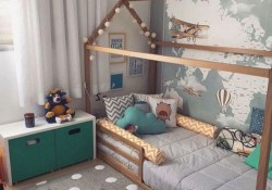 Comfy Kids Bedroom Decoration Ideas That Trendy Now35