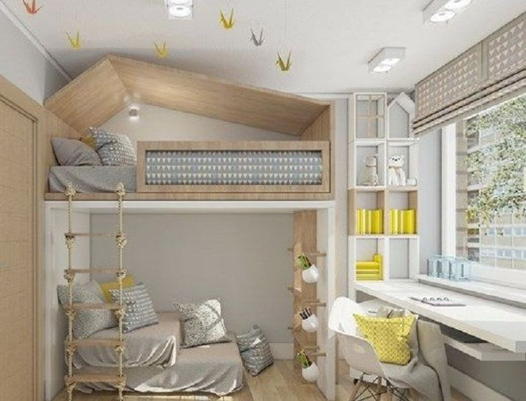 Comfy Kids Bedroom Decoration Ideas That Trendy Now46