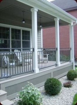 Cozy Front Porch Design And Decor Ideas For You Asap23