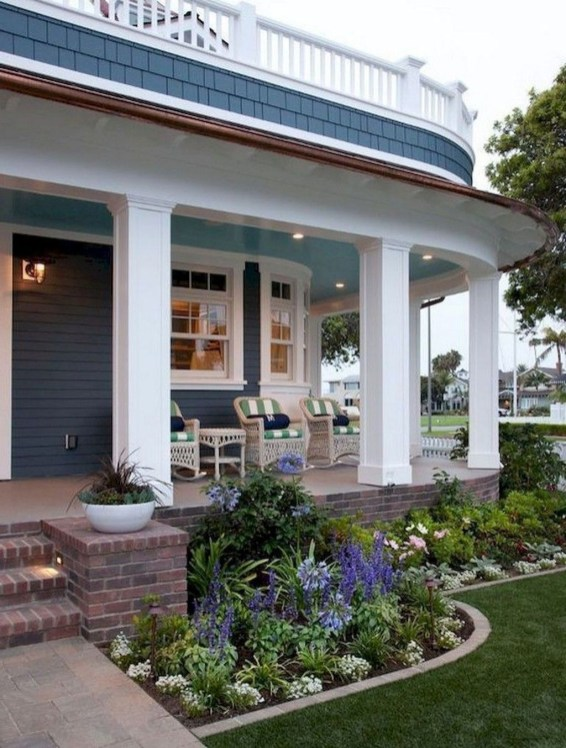 Cozy Front Porch Design And Decor Ideas For You Asap49