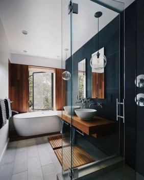 Cute Minimalist Bathroom Design Ideas For Your Inspiration08