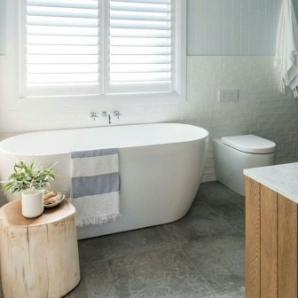Cute Minimalist Bathroom Design Ideas For Your Inspiration24