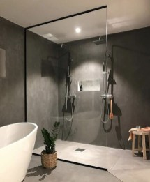 Cute Minimalist Bathroom Design Ideas For Your Inspiration36