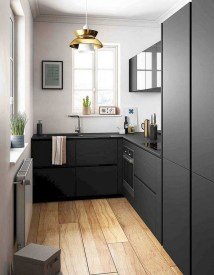 Elegant Black Kitchen Design Ideas You Need To Try13