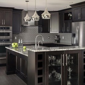 Elegant Black Kitchen Design Ideas You Need To Try28