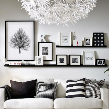 Latest Wall Decoration Ideas For Stunning Living Room08
