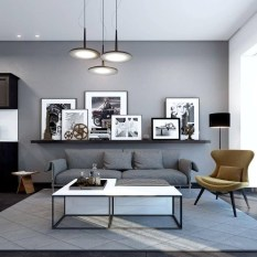 Latest Wall Decoration Ideas For Stunning Living Room18