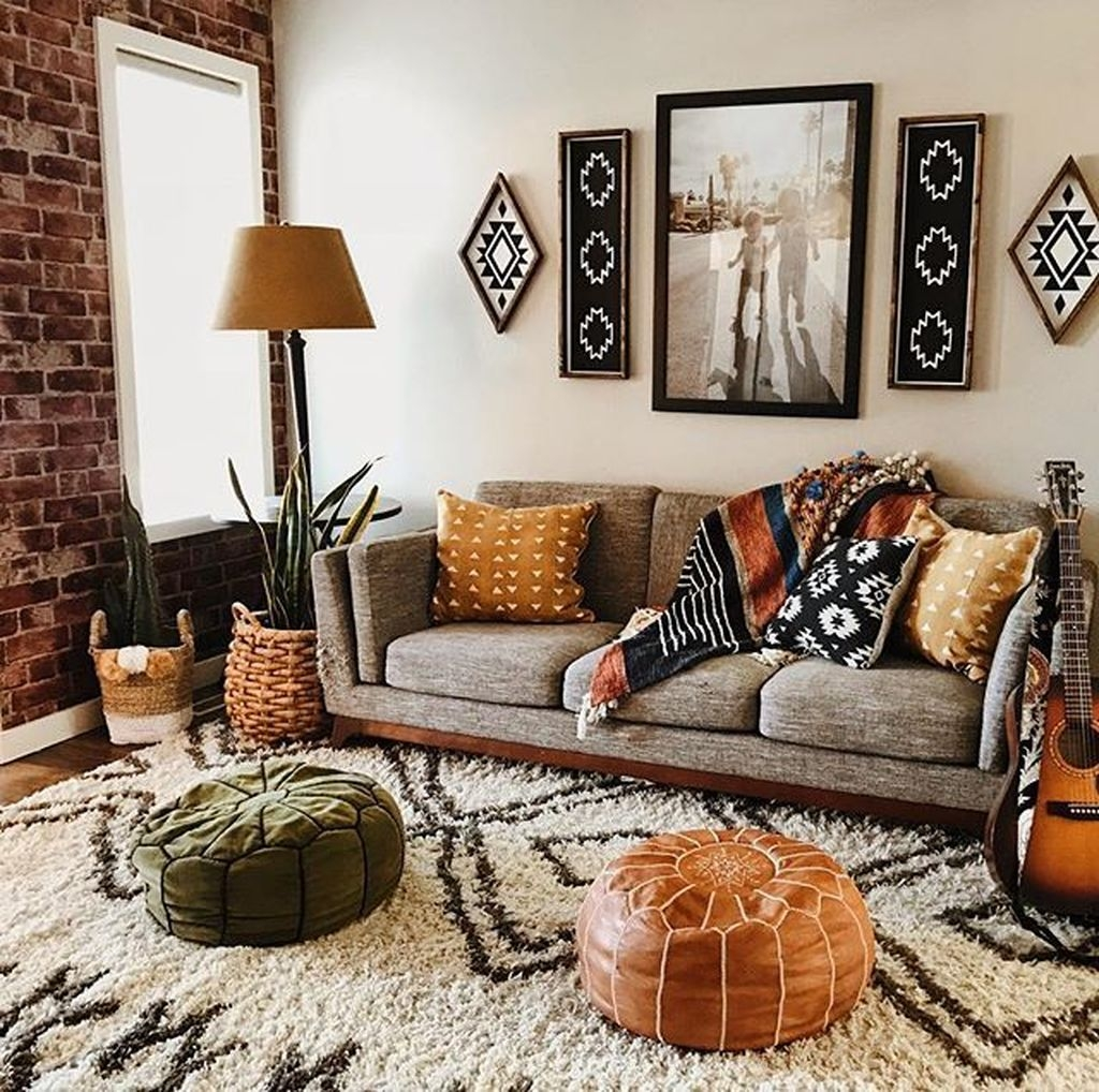 Latest Wall Decoration Ideas For Stunning Living Room21