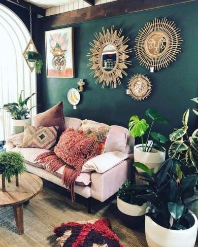 Latest Wall Decoration Ideas For Stunning Living Room22
