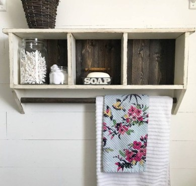 Modern Bathroom Floating Shelves Design Ideas For You22