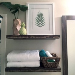 Modern Bathroom Floating Shelves Design Ideas For You41