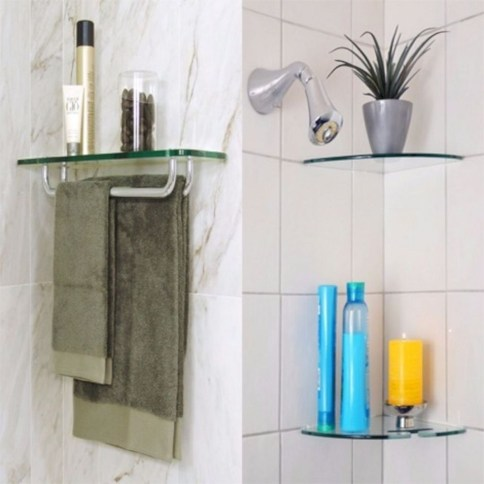 Modern Bathroom Floating Shelves Design Ideas For You44