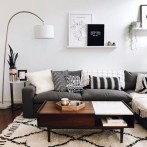 Newest Living Room Apartment Design Ideas For Your Apartment15