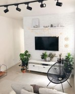 Newest Living Room Apartment Design Ideas For Your Apartment17