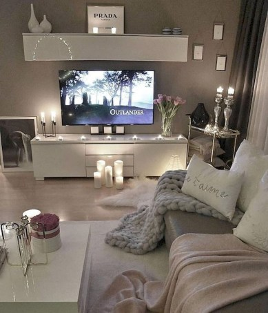Newest Living Room Apartment Design Ideas For Your Apartment23