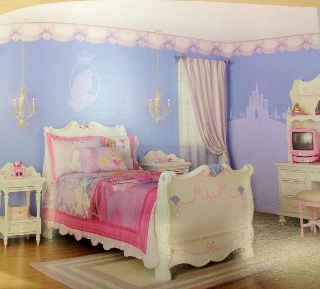 Pretty Princess Bedroom Design And Decor Ideas For Your Lovely Girl29