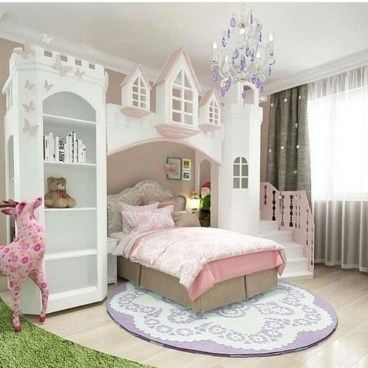Pretty Princess Bedroom Design And Decor Ideas For Your Lovely Girl42