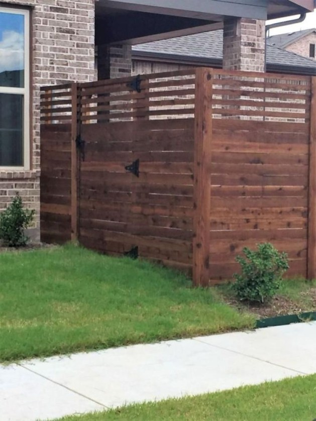 Smart Backyard Fence And Garden Design Ideas For Your Garden05