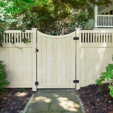 Smart Backyard Fence And Garden Design Ideas For Your Garden14