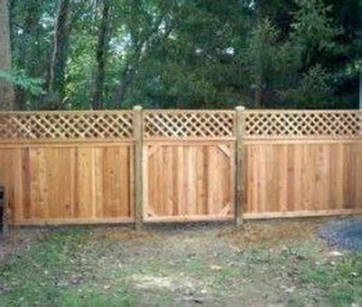 Smart Backyard Fence And Garden Design Ideas For Your Garden16