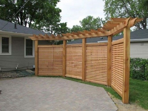 Smart Backyard Fence And Garden Design Ideas For Your Garden17