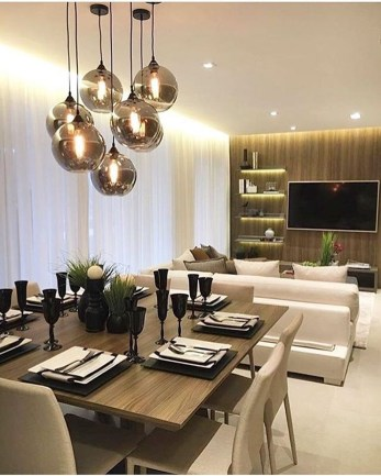 Spectacular Lighting Design Ideas For Awesome Dining Room21